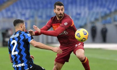 Leonardo Spinazzola-Achraf Hakimi Roma-Inter