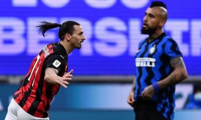 esultanza gol Zlatan Ibhahimovic Inter-Milan