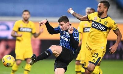 gol Robin Gosens Atlalanta-Parma