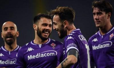 Esultanza gol Castrovilli Fiorentina