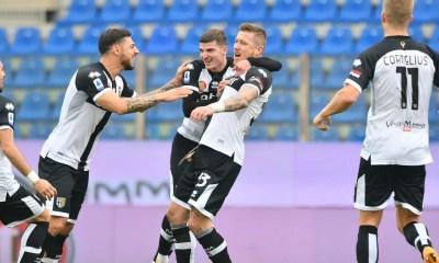 Esultanza gol Kucka Parma