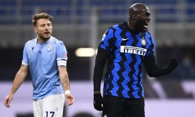 Immobile Lukaku Inter-Lazio