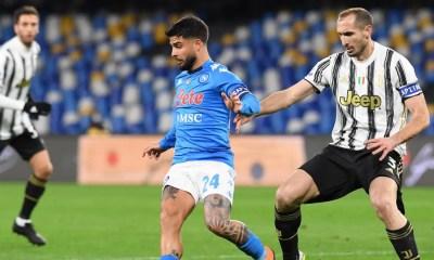 Insigne-Chiellini Napoli-Juventus