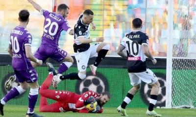 Nestorovski De Paul Udinese-Fiorentina