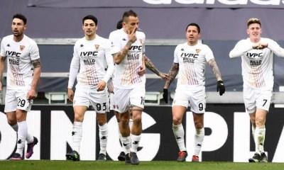 esultanza gol Adolfo Gaich Juvenuts-Benevento