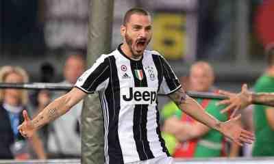 Bonucci Coppa Italia Lazio Juventus