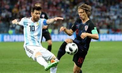 Messi Modric Argentina-Croazia