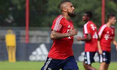Vidal-allenamento-Bayern-Monaco