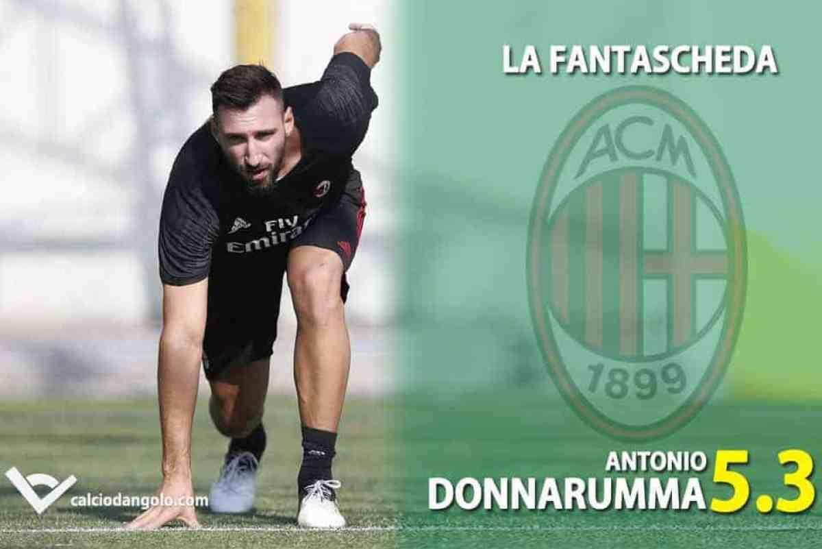 il più grande sconto grande sconto le migliori marche FANTASCHEDE - Milan, ecco Antonio Donnarumma. Fratelli rossoneri