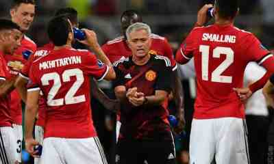 mourinho, supercoppa europea, real madrid-manchester united 2-1