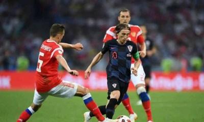russia croazia modric mondiali russia 2018