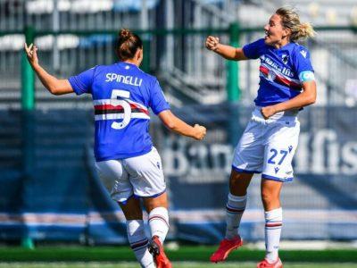 Sampdoria-Pomigliano 1-0
