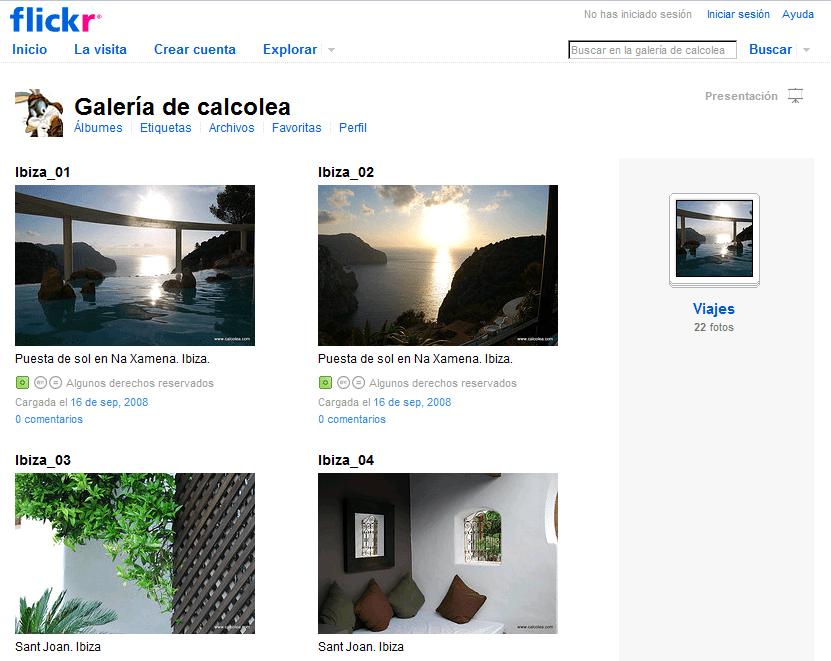 Mis fotos en Flickr