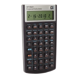 Calculadora Financiera HP 10bII+ (NW239AA)
