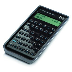 Calculadora Financiera HP 20b Business Consultant (F2219AA)