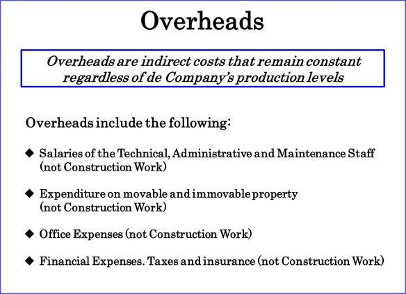 Overheads. Calculatemanhours.com