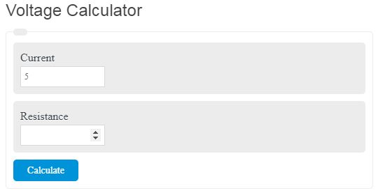 Voltage Calculator