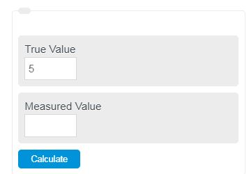 percent error calculator
