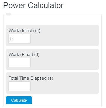 power calculator