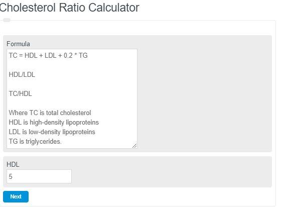 Cholesterol Ratio Calculator (HDL/LDL + more) - Calculator Academy