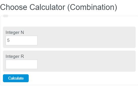 choose calculator