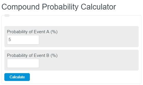 compound probability calculator