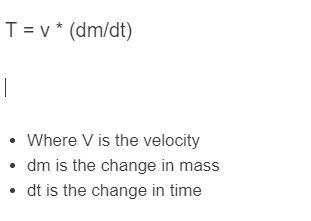 thrust formula