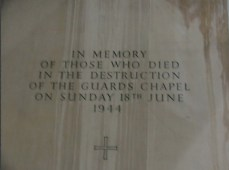 CALDICOTT Herbert Viges b1873 - Guards Chapel Memorial Stone 2