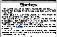 Coventry Times - Wednesday 13 March 1861 Page 4 Image B) THE BRITISH LIBRARY BOARD. ALL RIGHTS RESERVED.