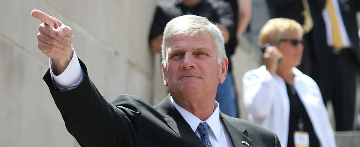 Facebook suspends Franklin Graham for sharing biblical 'hate speech'… two-years ago!