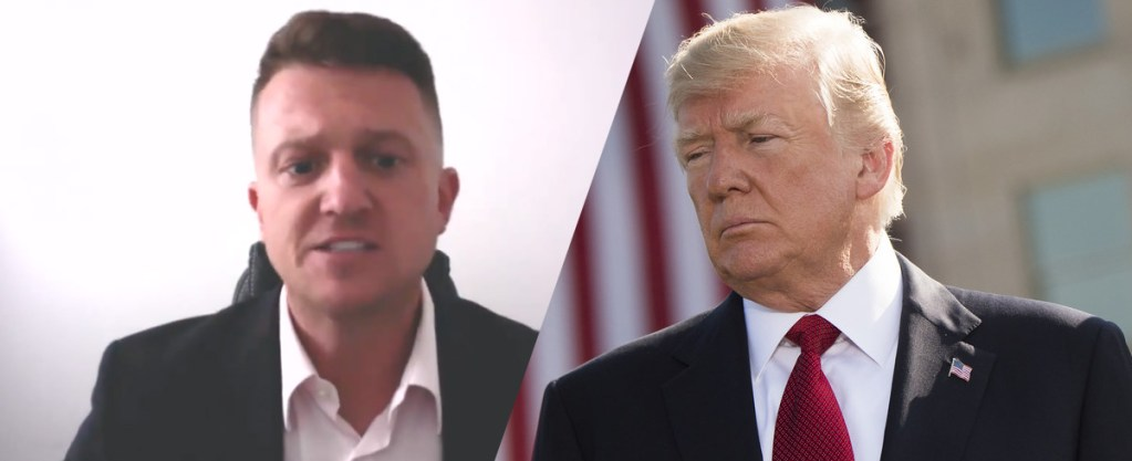 Image result for Video: Tommy Robinson Asks President Trump For Asylum
