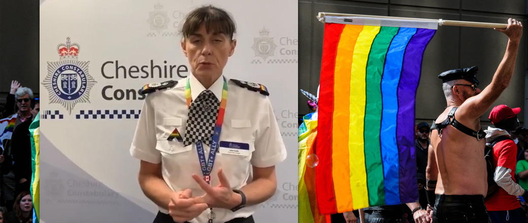 "UK Police warn misgendering a person or using the wrong pronoun can be a ""form of abuse"""