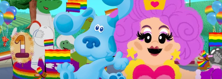 Blue's Clues Features Drag Queen, Transgender Beavers, Lesbian Crocodiles in LGBT Animal Pride Parade