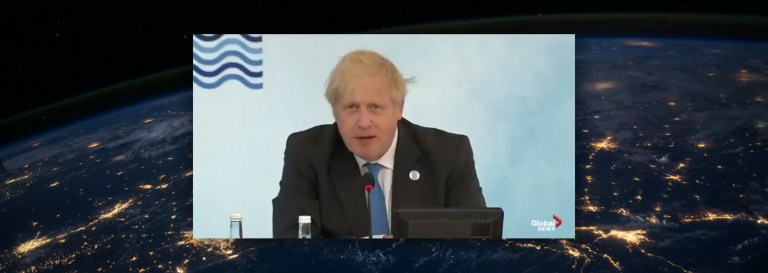 """Boris Johnson Urges World Leaders to """"Build Back Better In a More Gender-Neutral and Feminine Way"""""""