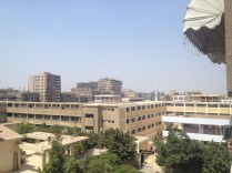 typical Cairo view from the roof
