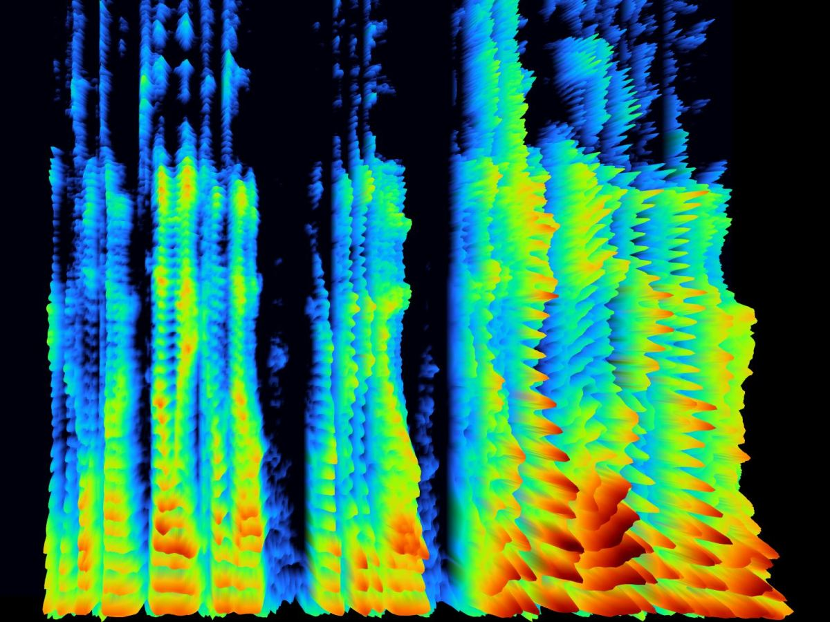 Interactive spectrogram in javascript with three.js and glsl shaders