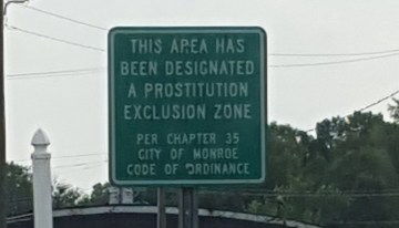 When you want a hooker, don't go to this area of Monroe, NC