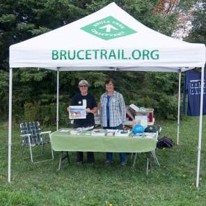 2016 Bruce Trail Day: Info Booth