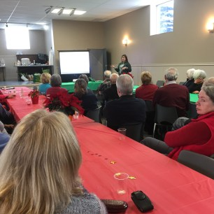 Social Media Presentation by Christine Elliott at the 2016 Annual Potluck