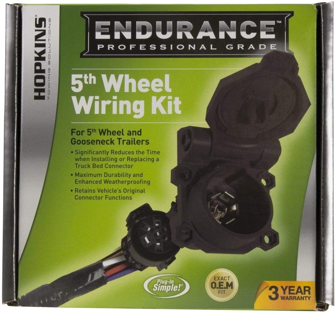 endurance 5th wheel wiring kit