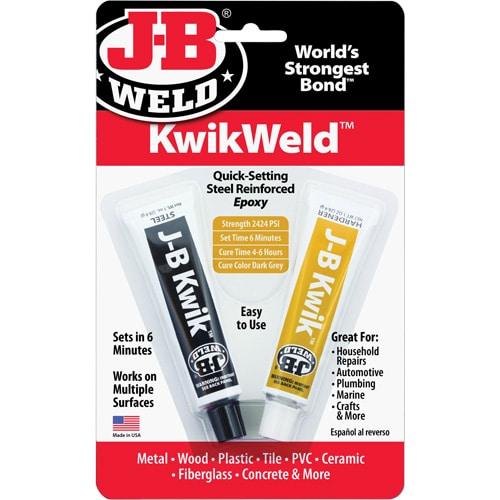 jb weld kwikweld stee reinforced epoxy
