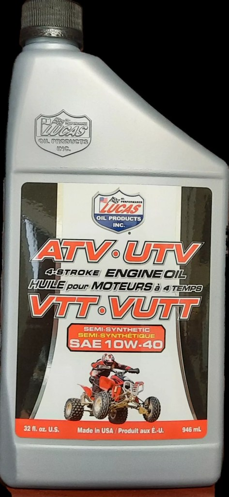 ATV Engine Oil