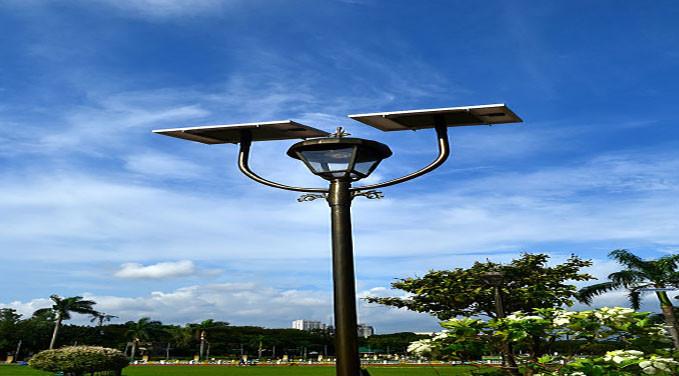 Lmparas y Luminarias Solares para el alumbrado pblico