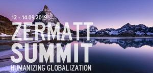 8th Zermatt Summit - Humanizing Globalization