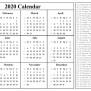 Printable Free Download Indian Calendar 2020 Pdf Excel