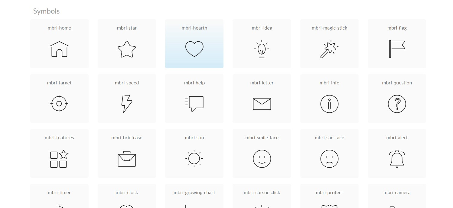 Bootstrap Icons Social