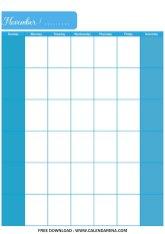 printable blank calendar november 2020