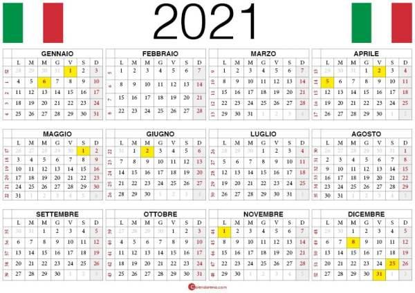calendario 2021 pdf
