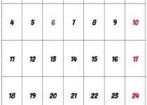 januar kalender 2021