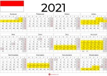 kalender 2021 ferien hessen querformat